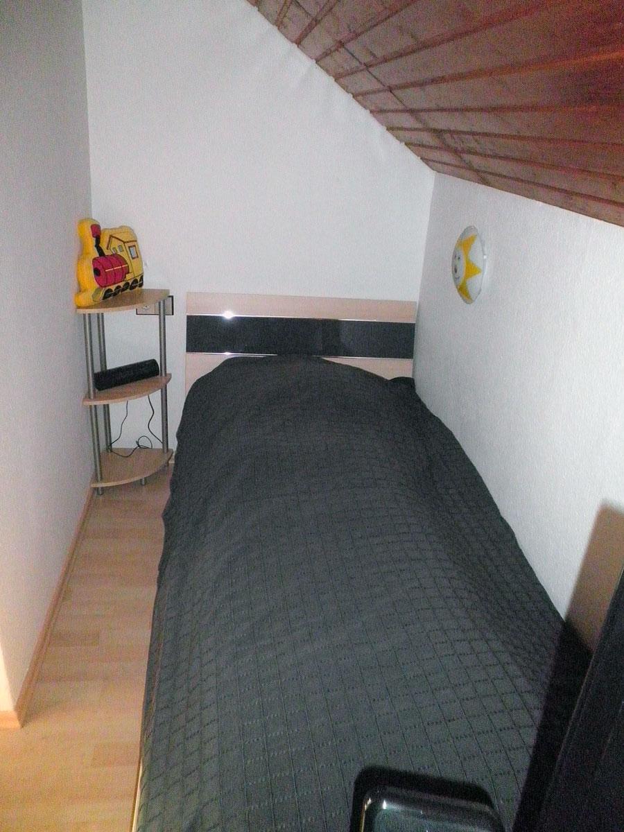 Dachwohnung-Zusatzbett